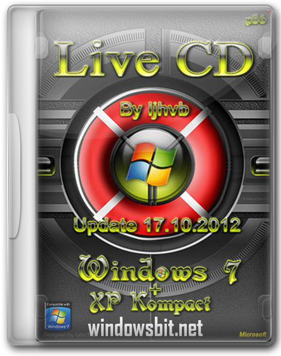 Загрузочный Live CD Windows 7 USB флешка